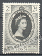 Solomon Islands - Salomon 1953 Yvert 79, Coronation Of Queen Elizabeth - MNH - Islas Salomón (1978-...)