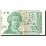 Billet, Croatie, 100 Dinara, 1991, 1991, KM:20a, TB+ - Croatie
