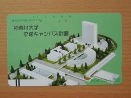 Japon Japan Free Front Bar, Balken Phonecard / 110-7967 / - Avions