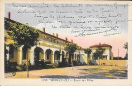 CPA - THUIR - Ecole Des Filles. - Altri Comuni