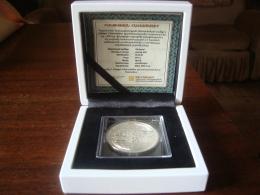 Armenien / Armenie / Armenia 2014, FIFA World Cup Brazil 100 Dram, Football Soccer, Silver Coin In Box - PROOF - Brasil