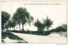 CPA FRONTENAY ROHAN ROHAN - Croix De Mission - 11/08/1926 - Frontenay-Rohan-Rohan