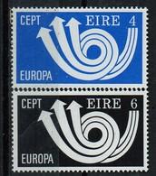 PIA - IRLANDA  - 1973  :  Europa  -  (Yv  291-92) - 1949-... Repubblica D'Irlanda