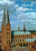 1 AK Germany * Die Marienkirche In Lübeck - Erbaut 1250 Bis 1350 - Seit 1987 UNESCO Weltkulturerbe * - Luebeck