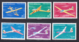 ROUMANIE AERIENS N°  245 à 250 ** MNH Neufs Sans Charnière, TB (D7196) Avions, Planeurs - Nuevos