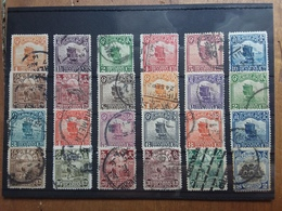 CINA 1913/19 - Serie Ordinaria 24 Francobolli Timbrati + Spese Postali - 1912-1949 Repubblica