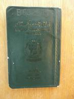 Passeport, Passport, Reisepass, Pasaporte Du Pakistan 1985. Plein De Visas.Port Gratuit En Europe. - Documents Historiques