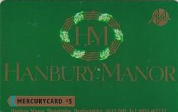 Mercury, MER179, Hanbury Manor, Castle, Mint, 2 Scans.  20MERF/W - United Kingdom
