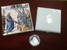 Vaticano - Moneta Argento 10 € 2003 25° Pontificato - Silver Coin Vatican - (si Veda Descrizione) - Vaticano