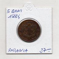 Romania - 1884 - 5 Bani - (MW1241) - Romania