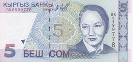 Kyrgyzstan P-13   5 Com  1997  UNC - Kirghizistan