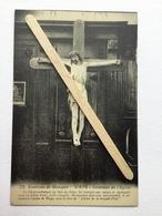 GENAPPE -WAYS»Nº32 Environs De GENAPPE ,INTÉRIEUR DE L'EGLISE»Christ Artistique En Bois De Chêne(Édit BAUDINIÈRE). - Genappe