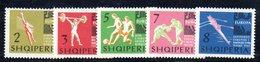 279 - 490 - ALBANIA 1963 ,    Yvert N. 641/643  ***  Sport - Albania