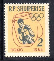 280 - 490 - ALBANIA 1963 ,    Yvert N. 626  ***  Boxe - Albania