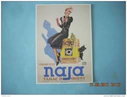 CLOUET  10650   TABAC CIGARETTES NAJA    DE 1939 - Shops