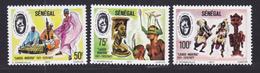 SENEGAL N°  456 à 458 ** MNH Neufs Sans Charnière, TB (D7200) Festival Mondial Des Arts Négro-africains - Sénégal (1960-...)