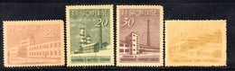 281 - 490 - ALBANIA 1963 ,    Yvert N. 655/658  ***  Industria - Albania