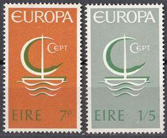 EIRE - 1966 - Serie Completa Nuova Senza Gomma: Yvert 187/188, Europa. - 1949-... Repubblica D'Irlanda