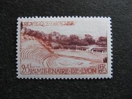 Rare Et TB N° 1124a ( Maury), Impression Incomplète, Neuf XX . - Variedades: 1950-59Nuevos
