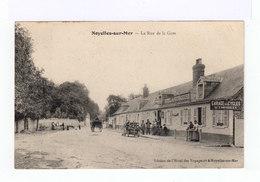 Noyelles Sur Mer. La Rue De La Gare. Automobile Années 1900. Hôtel De Voyageurs. Garage. (2861) - Noyelles-sur-Mer