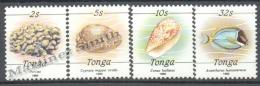 Tonga 1990 Yvert 786-89, Definitive, Sea Fauna - MNH - Tonga (1970-...)