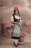 ¤¤  -  Carte Fantaisie  -  Le Petit Chaperon Rouge       -  ¤¤ - Fairy Tales, Popular Stories & Legends