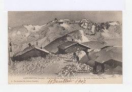 Lanslebourg. Savoie. Une Corvée De Neige Au Poste De La Turra. Grand Roc Noir. (2862) - Militaria