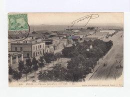 Tunis. L'avenue Jules Ferry Et Le Golfe. (2864) - Tunisie