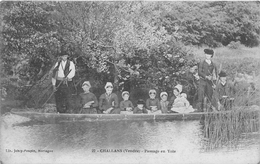 ¤¤  -  CHALLANS   -  Passage En Yole   -  Folklore   -  ¤¤ - Challans