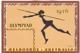 AUSTRALIA Unused Olympic Postcard - Sommer 1956: Melbourne