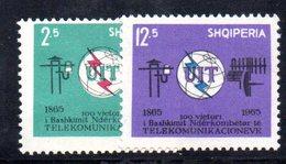 292 - 490 - ALBANIA 1965 ,    Yvert N. 765/766   ***  MNH . UIT - Albania