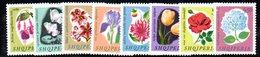296 - 490 - ALBANIA 1965 ,    Yvert N. 778/785   ***  MNH. Fiori - Albania