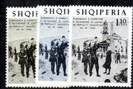 299 - 490 - ALBANIA 1965 ,    Yvert N. 831/833  ***  MNH - Albania