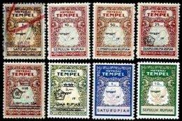 INDONESIA, Stamp Duty, */o M/U, F/VF - Indonésie