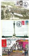 NAPOLEON Et L'Armée Impériale - Lot De 10 CM - PE ( Voir Scan) - Cartes-Maximum