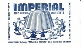 BUVARD FLAN IMPERIAL - Sucreries & Gâteaux
