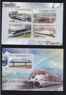 AEROTRAIN>HOVERTRAIN>SKYTRAIN>BURUNDI - Trains