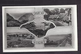 CPSM ANGLETERRE - ISLE OF WIGHT - TB CP Multivue Dont Centre Village Vues Mer , Etc... - Angleterre