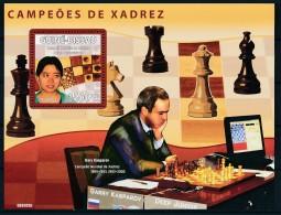 D- [401095] **/Mnh-Guinée-Bissau 2009 - Championnats Mondial D'échecs, Gary Kasparov - Echecs