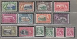 TRINIDAD TOBAGO 1953-1959 Definitive Stamps Set MVLH Mi 155-166 #22403 - Trinidad & Tobago (...-1961)