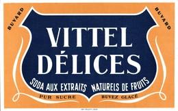 BUVARD VITTEL DELICES - Softdrinks