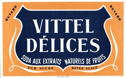 BUVARD VITTEL DELICES - Limonades