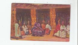 KAMERUN 2 NJOJA IM KREISE SEINER FRANEN 1915 - Cameroun