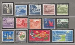 TRINIDAD TOBAGO 1960 Definitive Stamps Set MVLH Mi 172-186 #22404 - Trinidad & Tobago (...-1961)