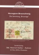 """Köhler Sonderkatalog """"Herzogtum Braunschweig"""" - Sammlung Brunsviga - Auktionskataloge"""