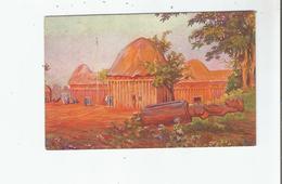 KAMERUN 4 DER PALAST NJOJAS UND DIE BASLER MISSIONKIRCHE 1915 - Cameroun