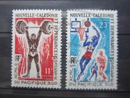 VEND BEAUX TIMBRES DE NOUVELLE-CALEDONIE N° 375 + 376 , XX !!! - New Caledonia