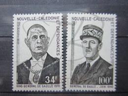 VEND BEAUX TIMBRES DE NOUVELLE-CALEDONIE N° 377 + 378 , XX !!! - New Caledonia