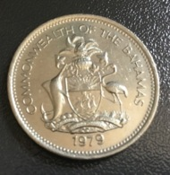 BAHAMAS - 1979 - Moneta 25 Centesimi , Condizioni Ottime - Bahamas