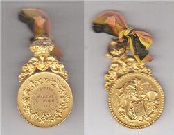 Lausprelle  (acoz) Médaille St Roch   1956 - Popular Art